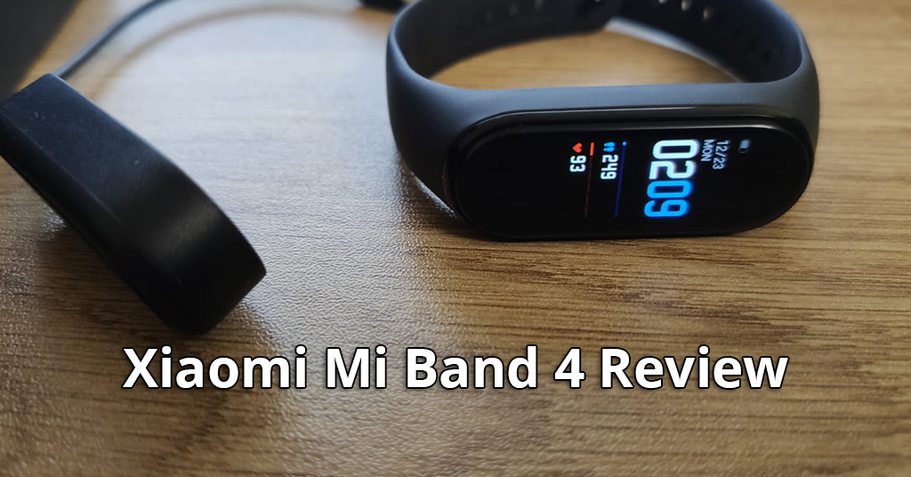 xiaomi mi band 4 review fitness tracker